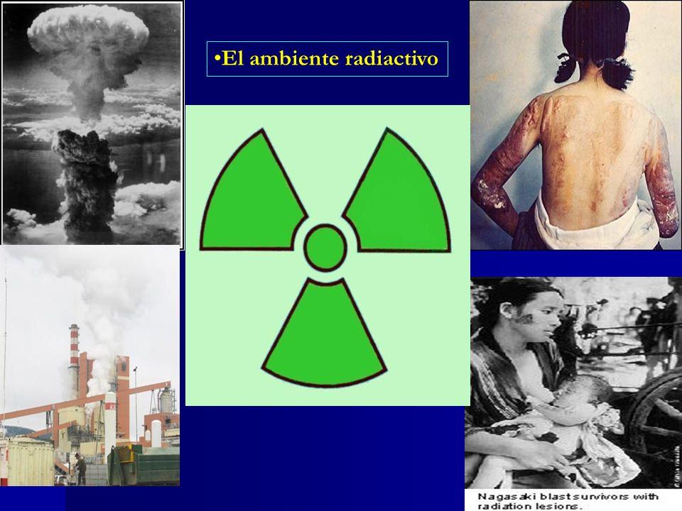 El ambiente radiactivo