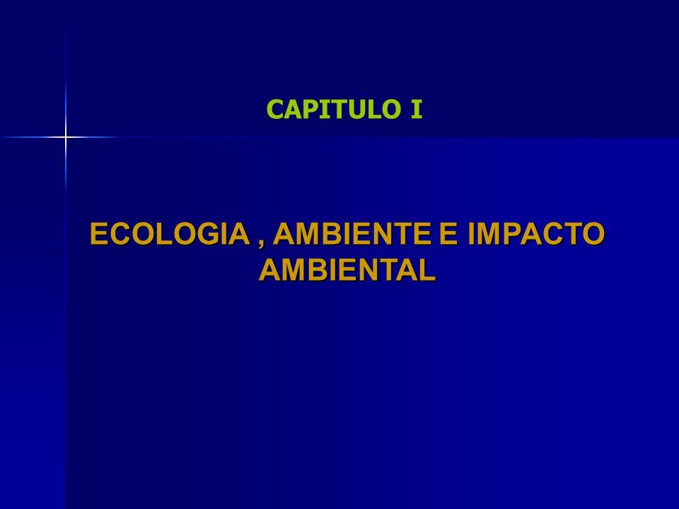 ECOLOGIA , AMBIENTE E IMPACTO AMBIENTAL