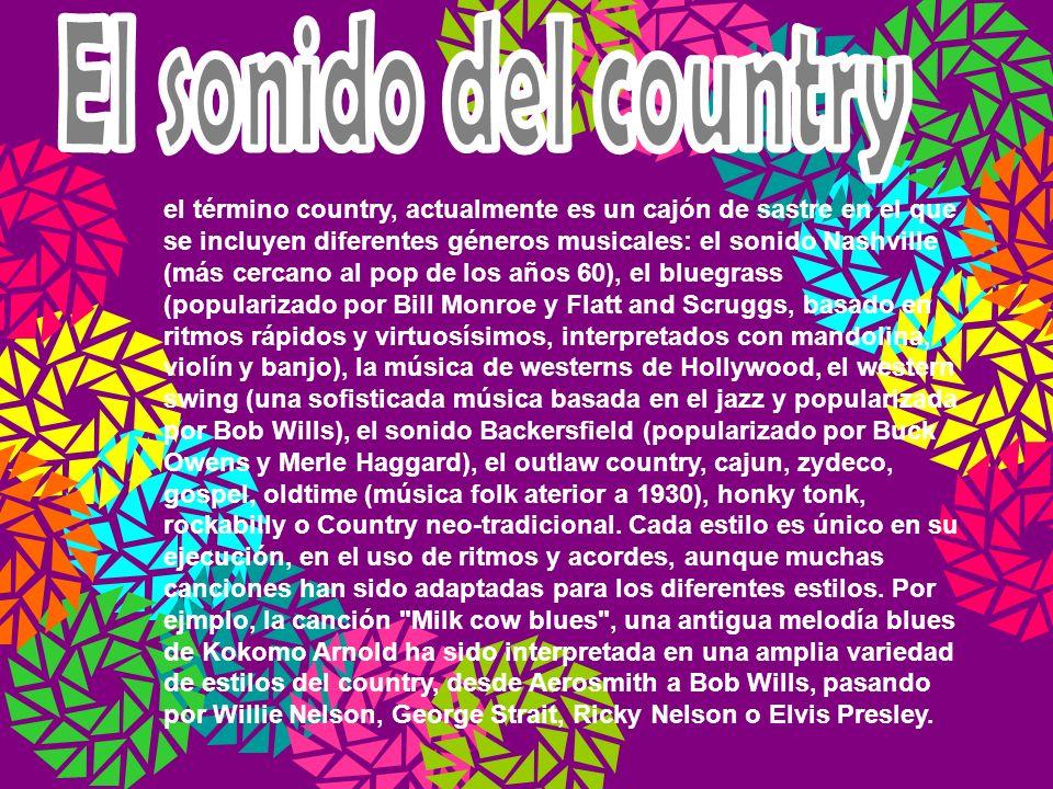 El sonido del country