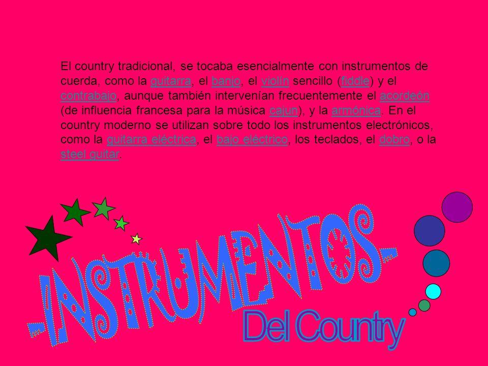 -INSTRUMENTOS- Del Country