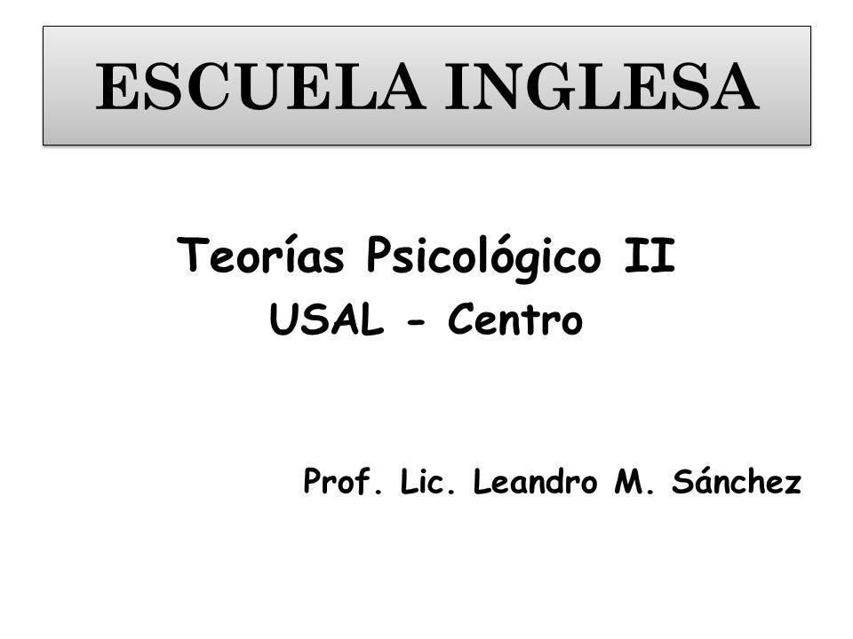 Teorías Psicológico II