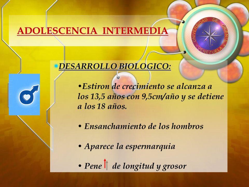 ADOLESCENCIA INTERMEDIA