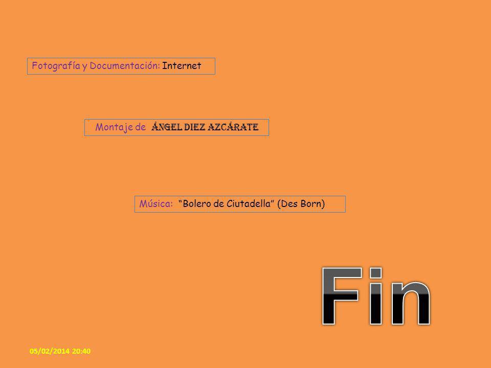 Fin Fotografía y Documentación: Internet
