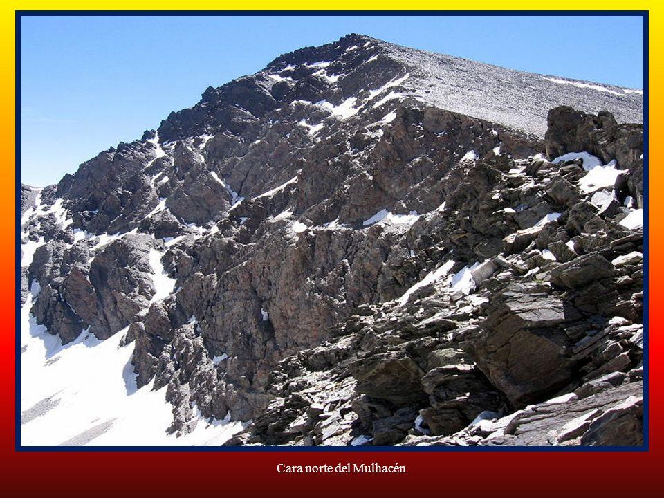 Cara norte del Mulhacén