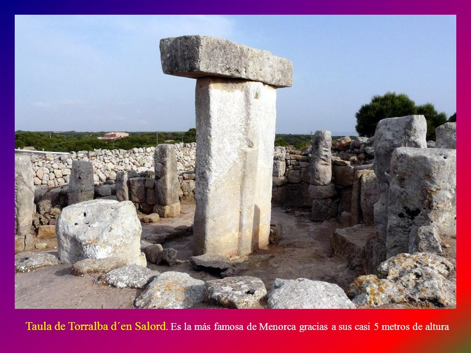 Taula de Torralba d´en Salord