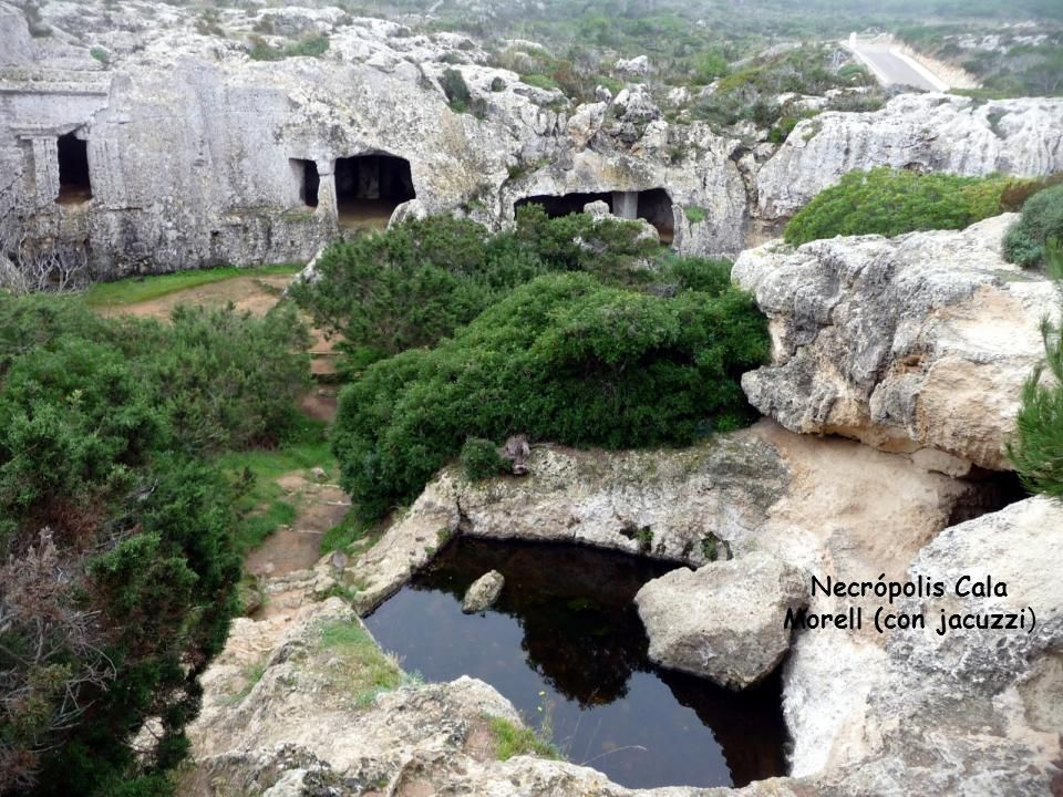 Necrópolis Cala Morell (con jacuzzi)