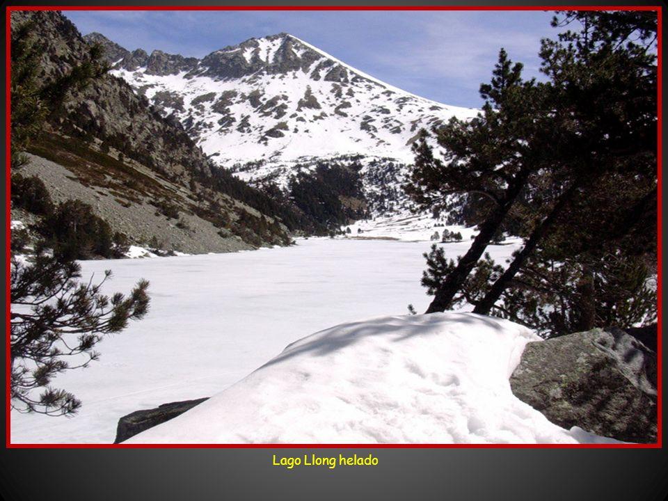 Lago Llong helado