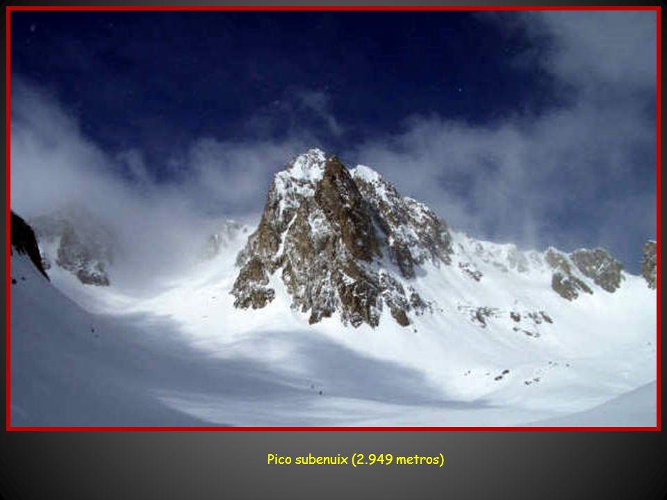Pico subenuix (2.949 metros)