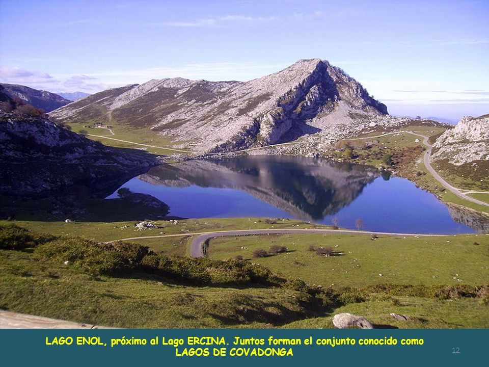 LAGO ENOL, próximo al Lago ERCINA