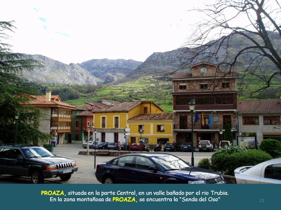 En la zona montañosa de PROAZA, se encuentra la Senda del Oso