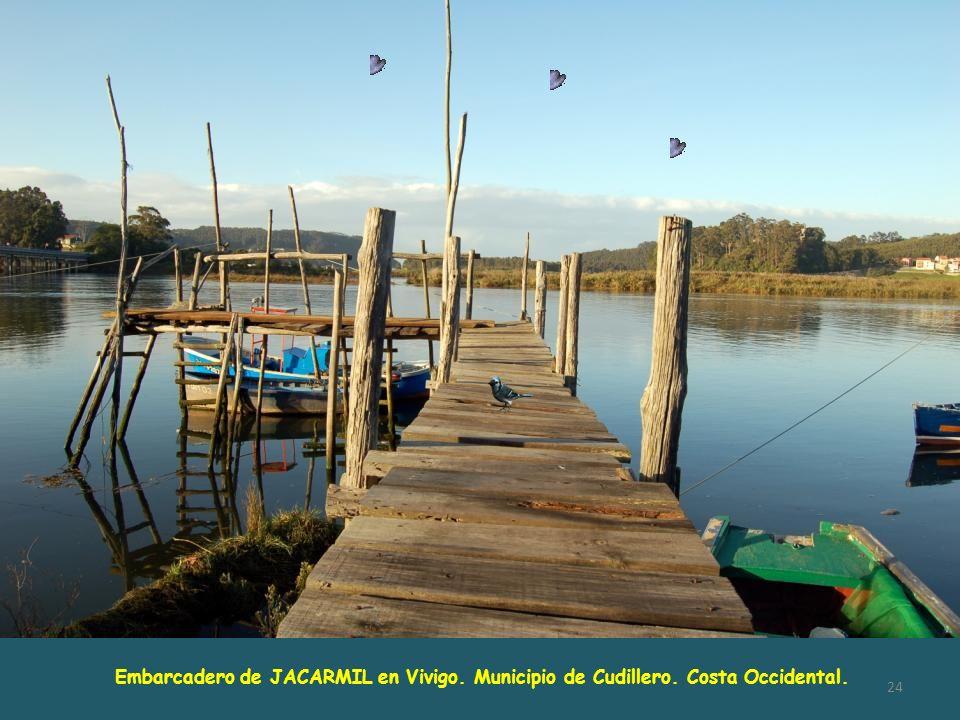Embarcadero de JACARMIL en Vivigo. Municipio de Cudillero