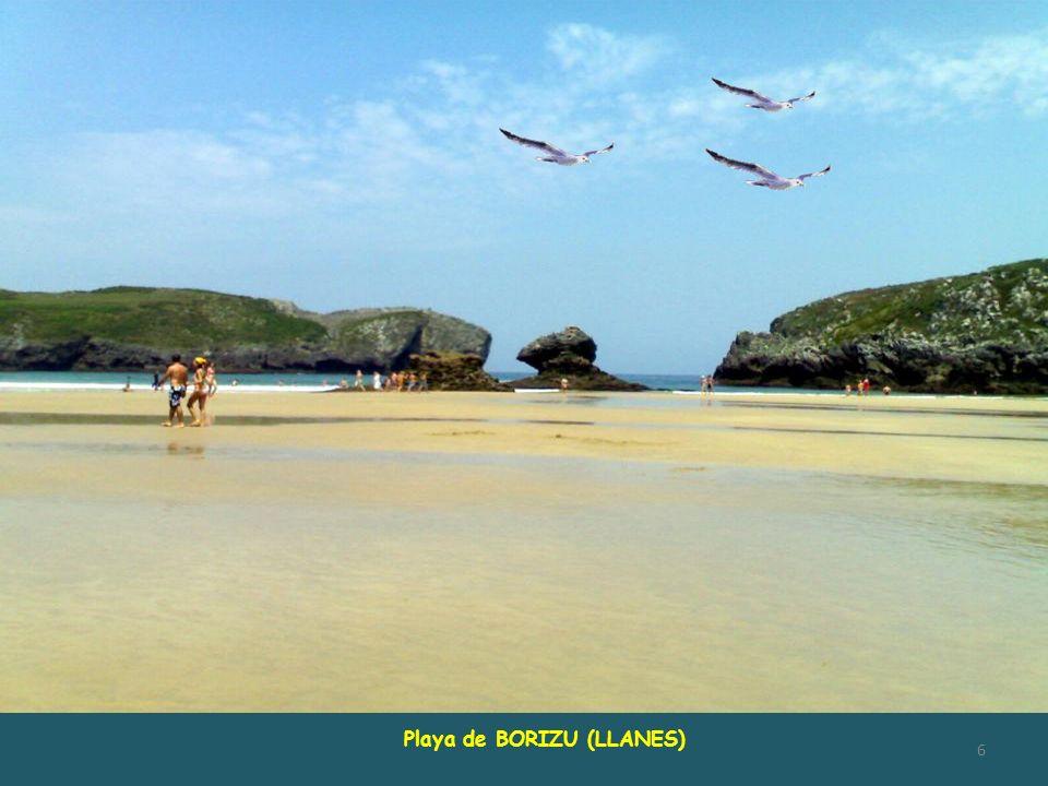 Playa de BORIZU (LLANES)