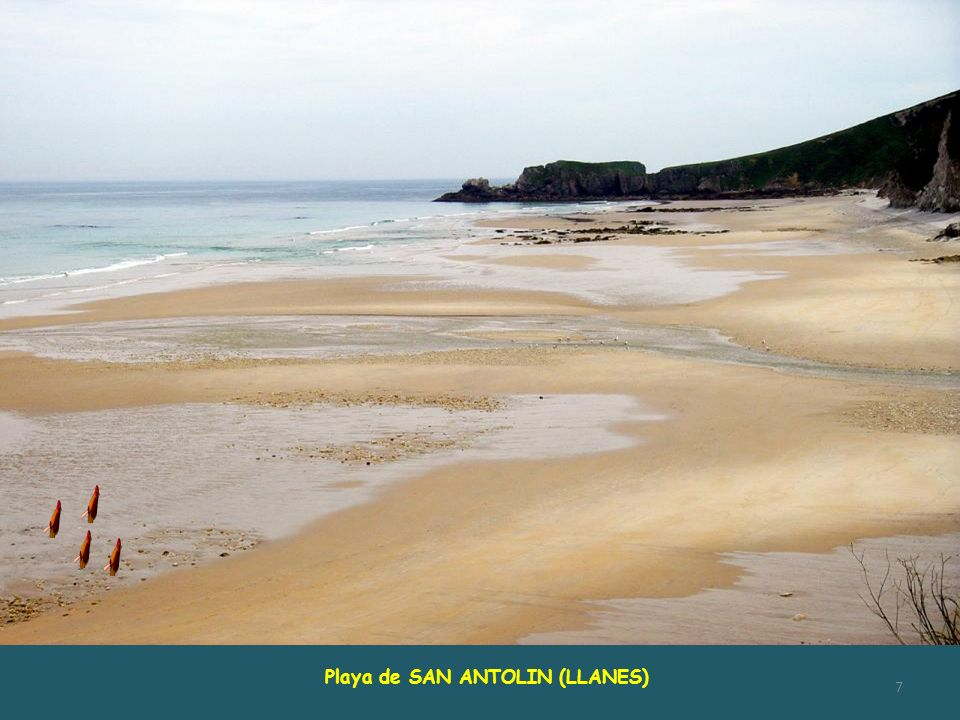 Playa de SAN ANTOLIN (LLANES)