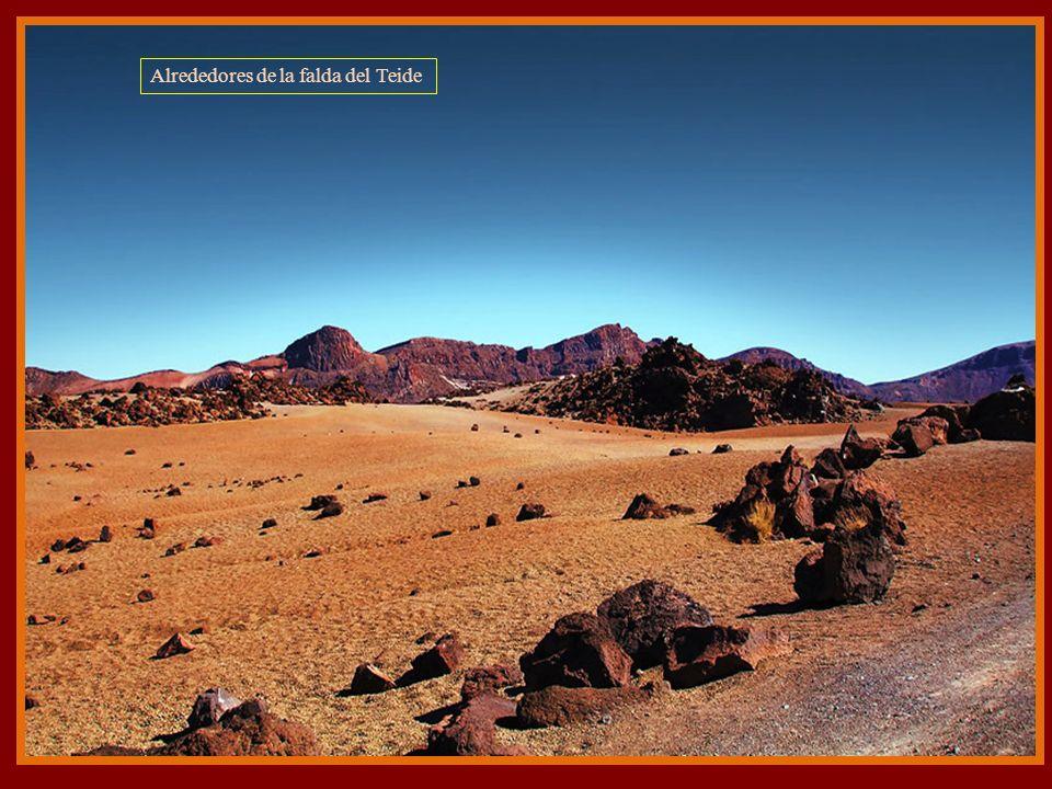 Alrededores de la falda del Teide