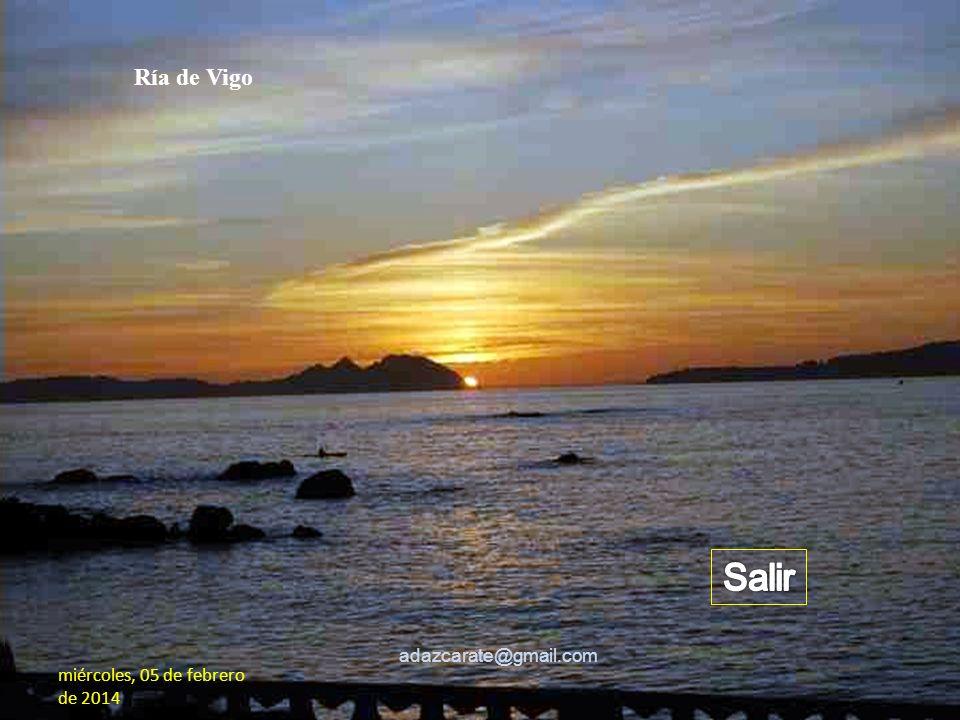 Salir Ría de Vigo adazcarate@gmail.com
