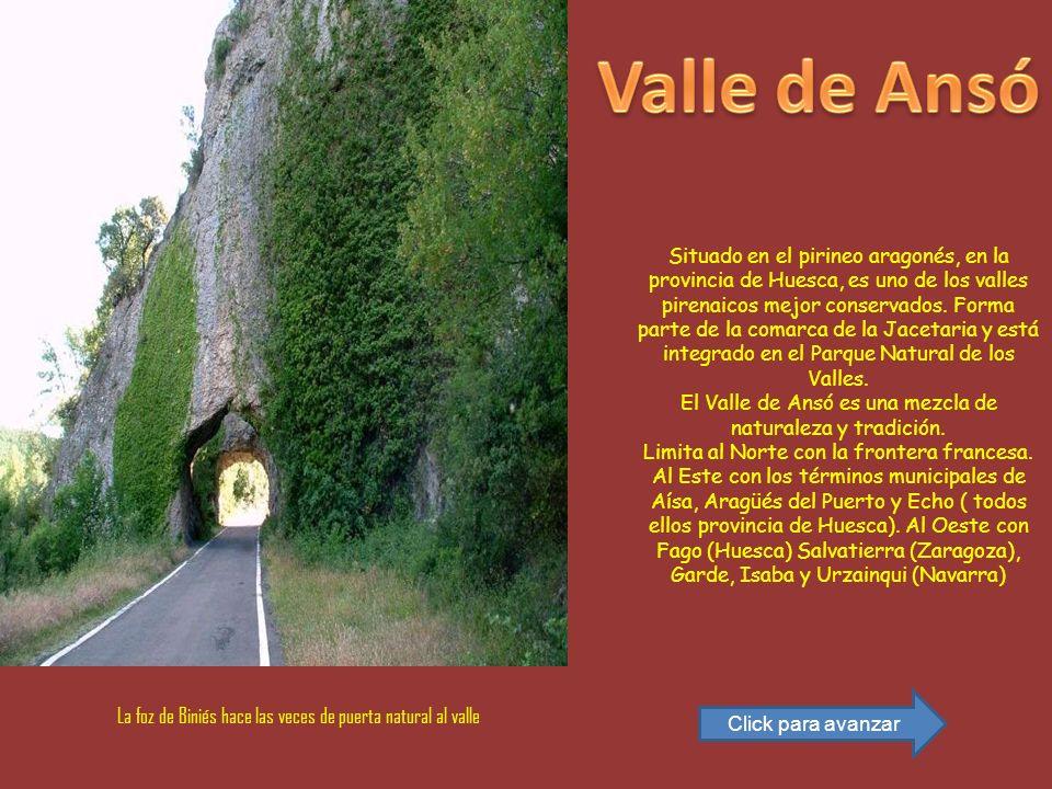 El Valle de Ansó es una mezcla de naturaleza y tradición.