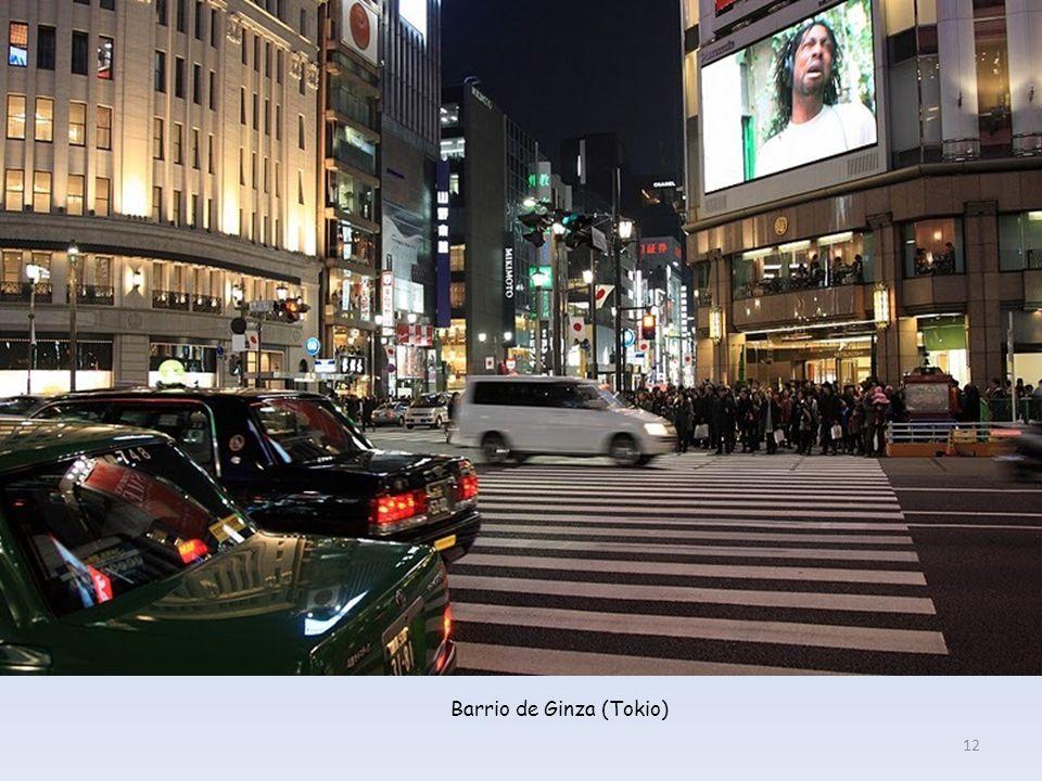Barrio de Ginza (Tokio)