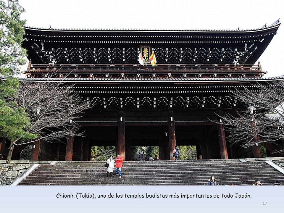 Chionin (Tokio), uno de los templos budistas más importantes de todo Japón.