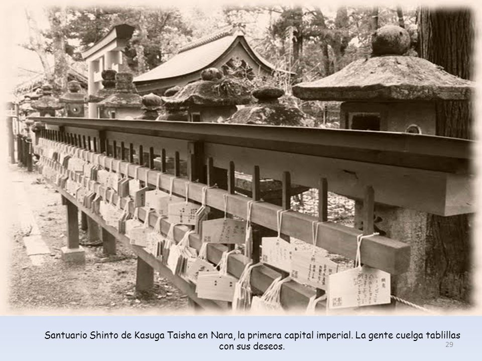 Santuario Shinto de Kasuga Taisha en Nara, la primera capital imperial
