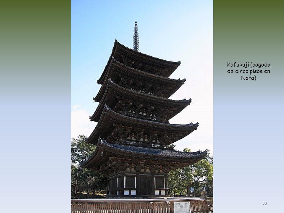 Kofukuji (pagoda de cinco pisos en Nara)