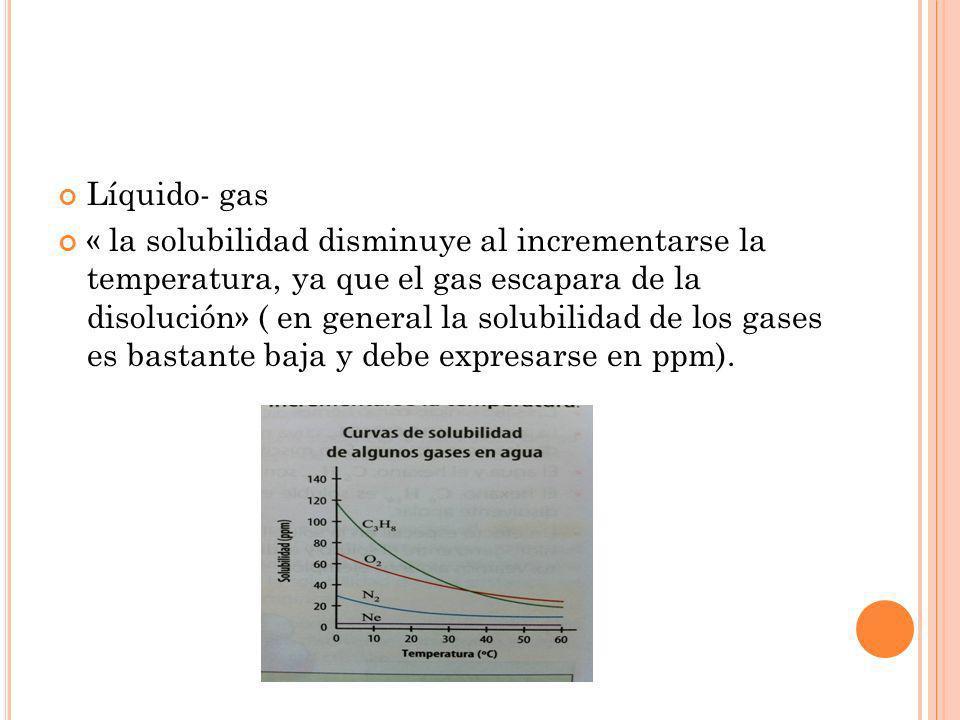 Líquido- gas