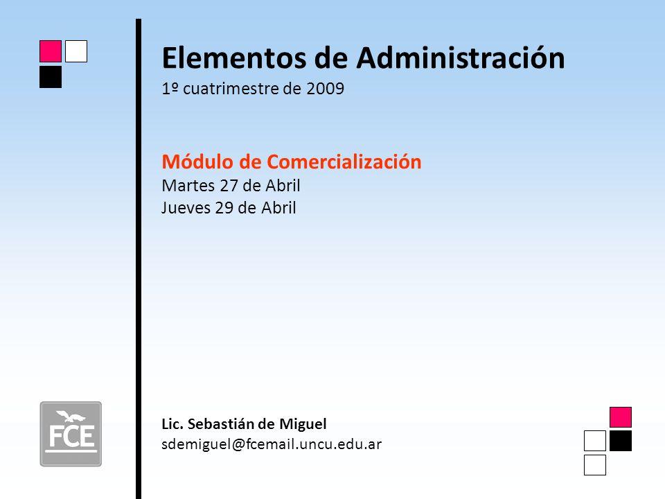 Elementos de Administración