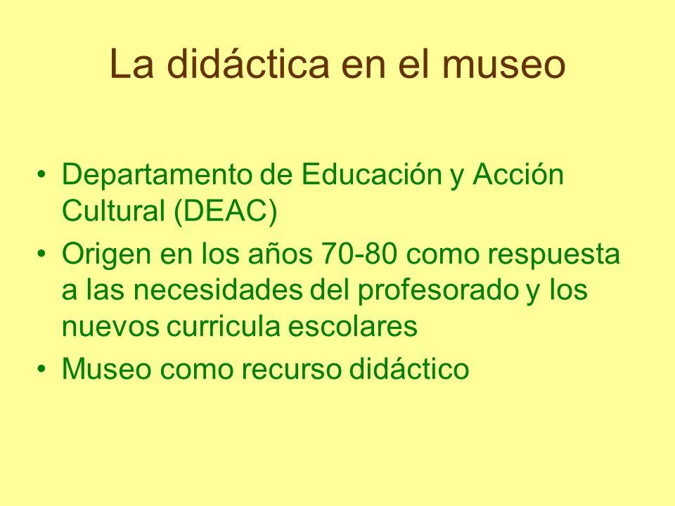 La didáctica en el museo