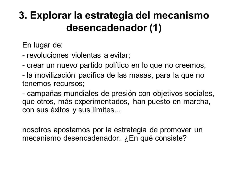 3. Explorar la estrategia del mecanismo desencadenador (1)