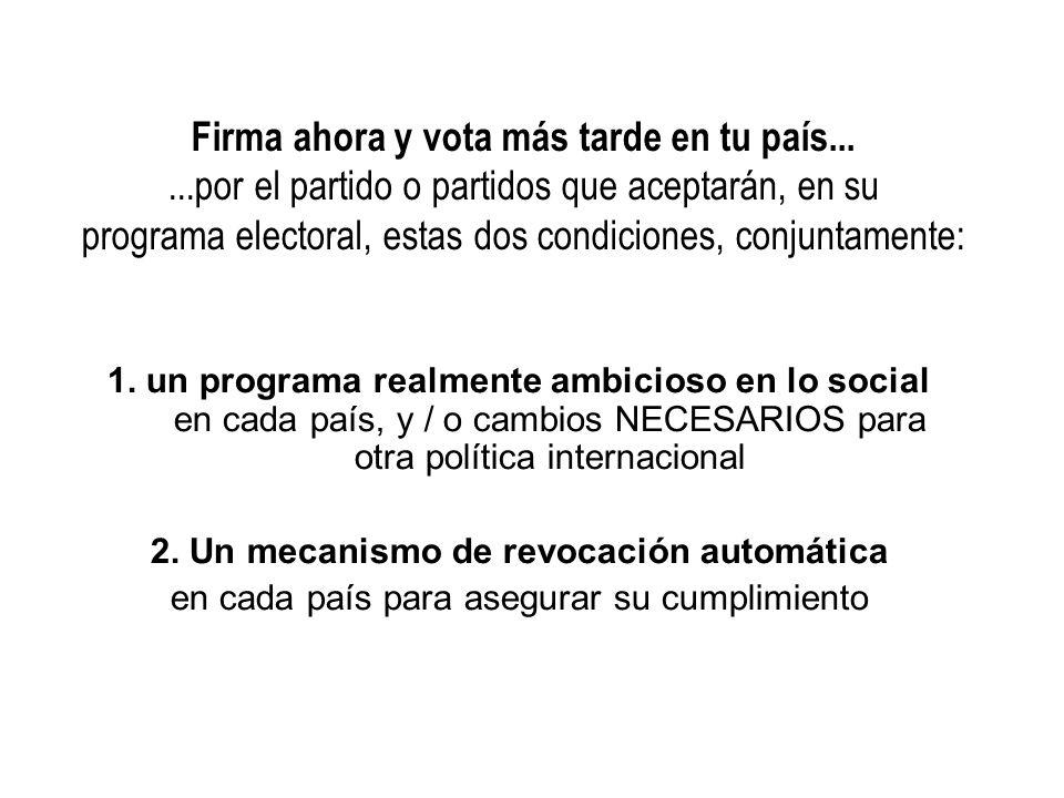 2. Un mecanismo de revocación automática