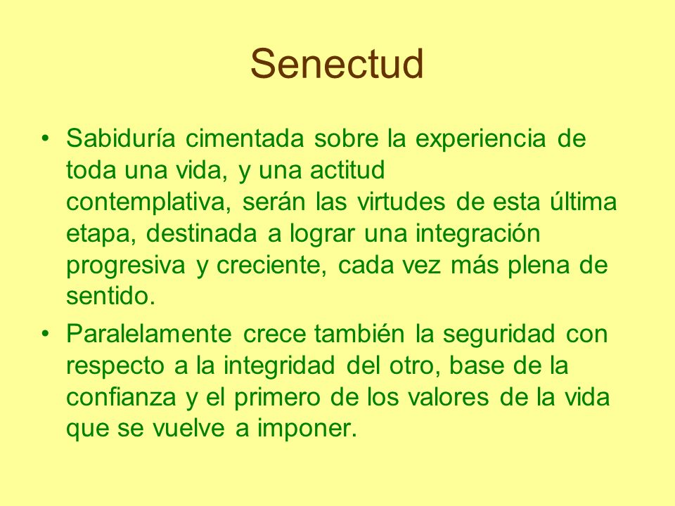 Senectud