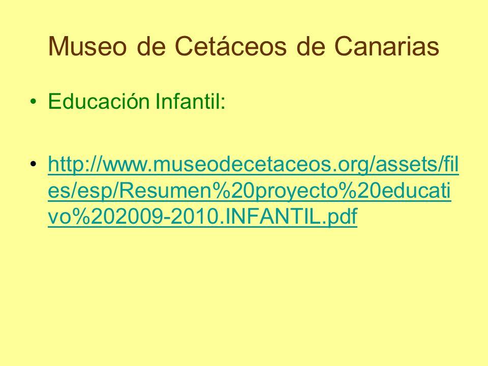 Museo de Cetáceos de Canarias