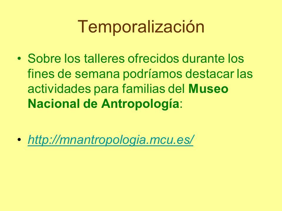 Temporalización