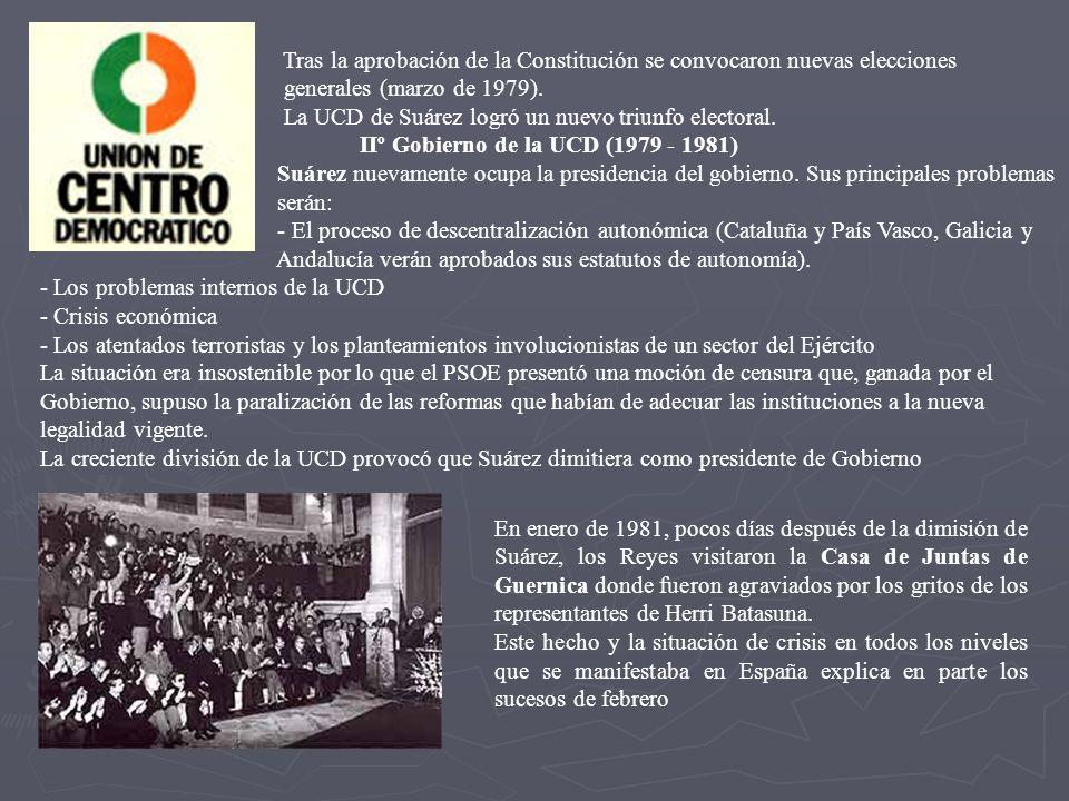 IIº Gobierno de la UCD (1979 - 1981)