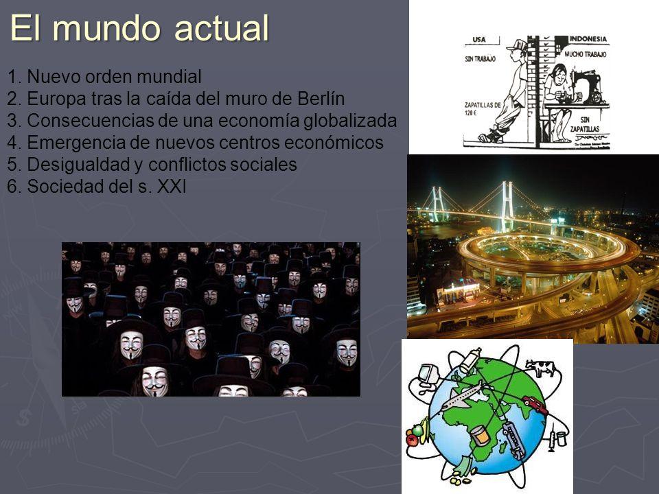 El mundo actual 1. Nuevo orden mundial