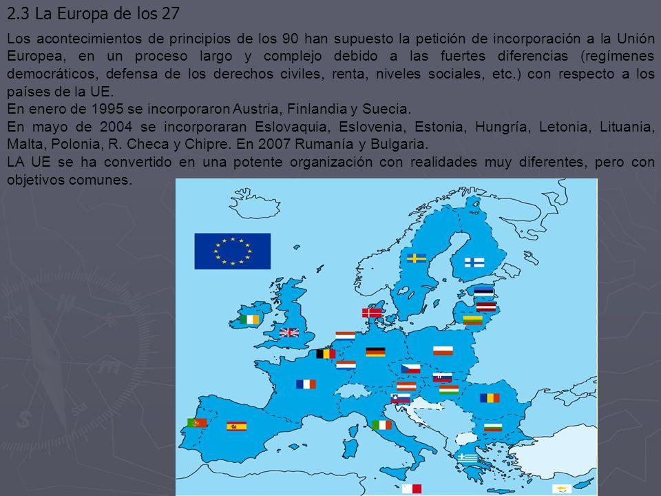 2.3 La Europa de los 27