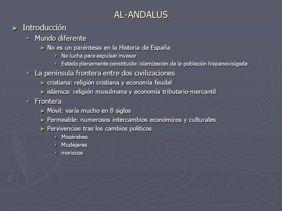 AL-ANDALUS Introducción Mundo diferente