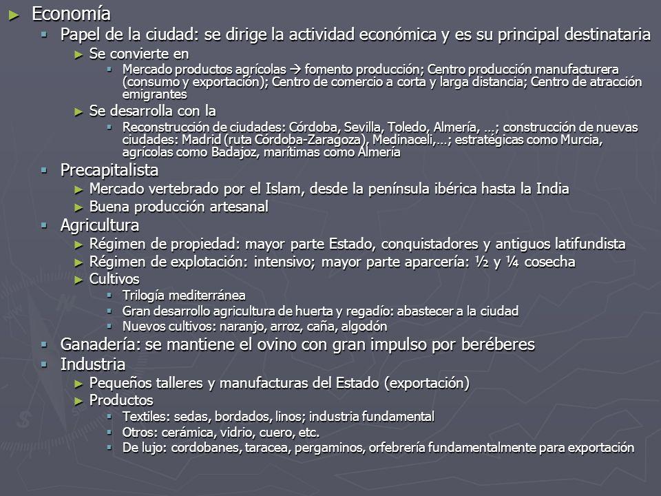 Economía Papel de la ciudad: se dirige la actividad económica y es su principal destinataria. Se convierte en.