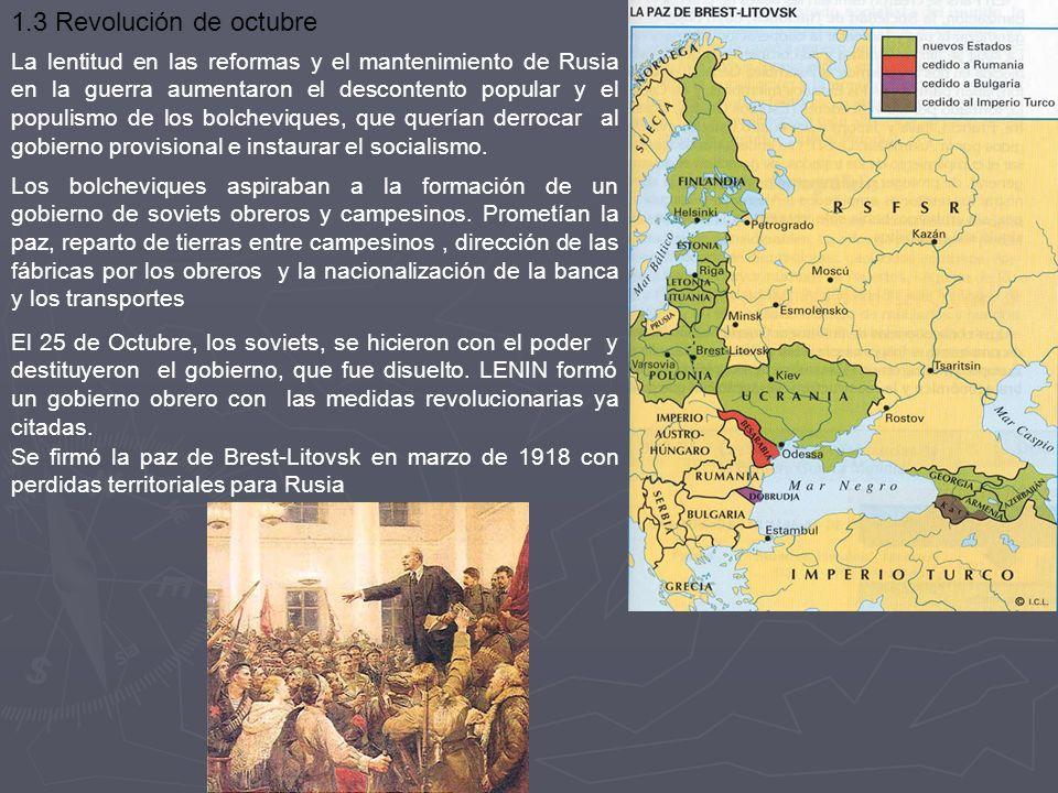 1.3 Revolución de octubre