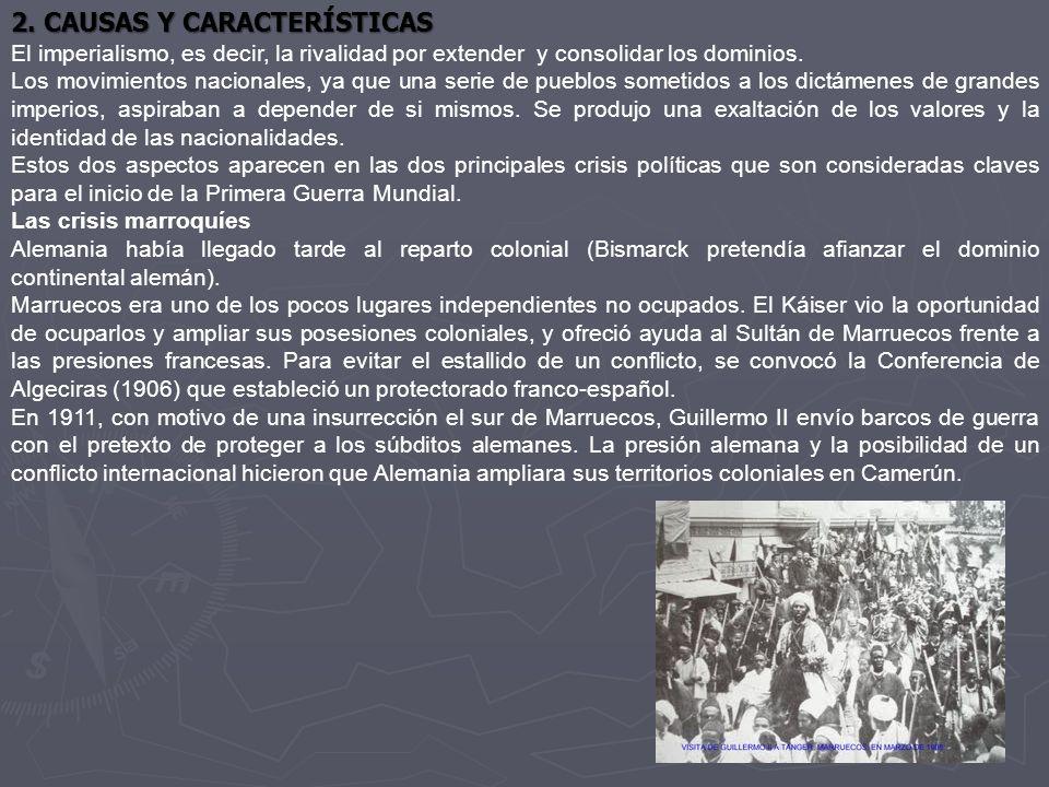 2. CAUSAS Y CARACTERÍSTICAS