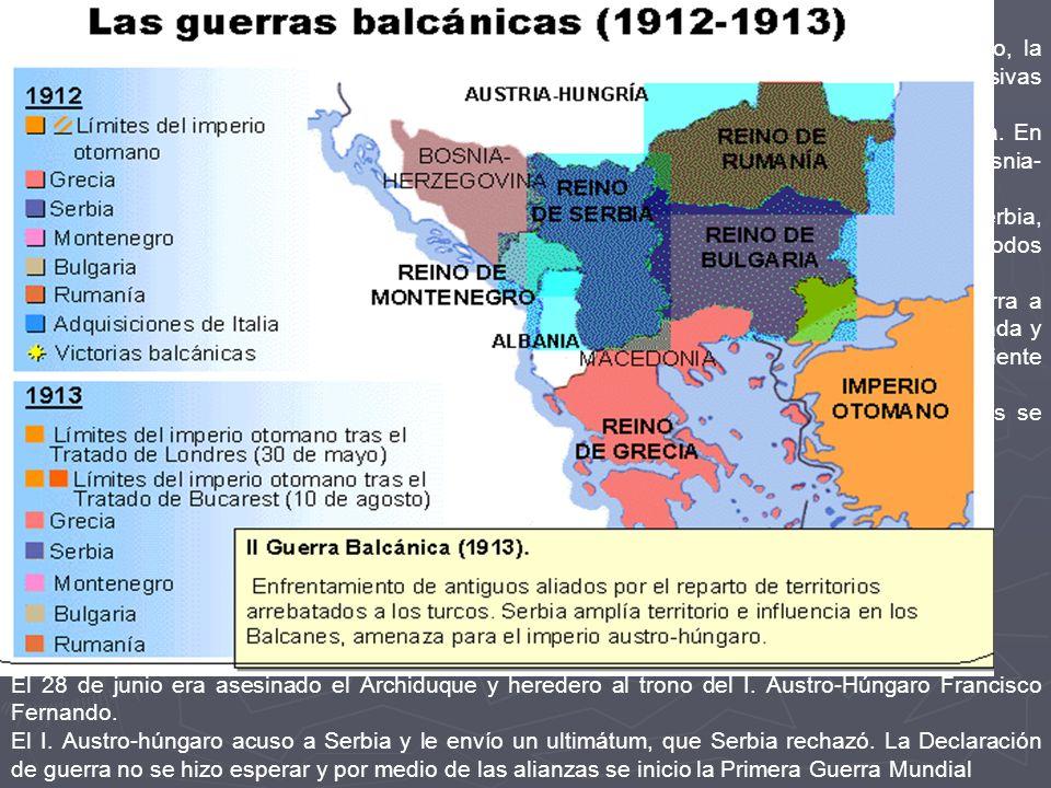Las crisis balcánicas