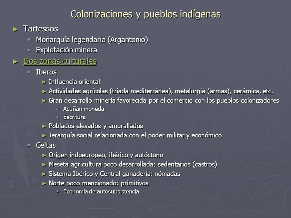 Colonizaciones y pueblos indígenas