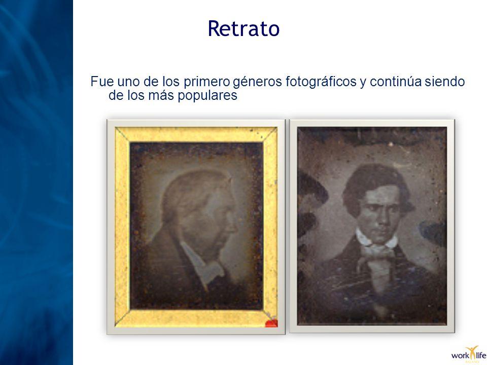 Retrato Fue uno de los primero géneros fotográficos y continúa siendo de los más populares