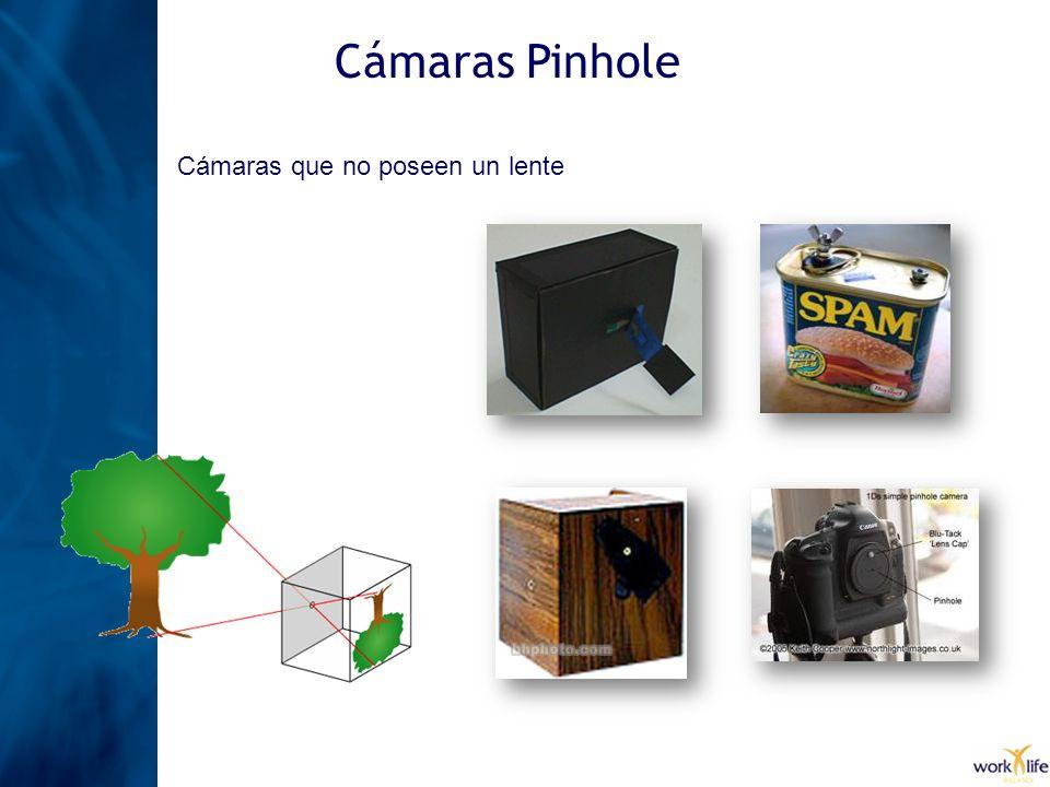 Cámaras Pinhole Cámaras que no poseen un lente