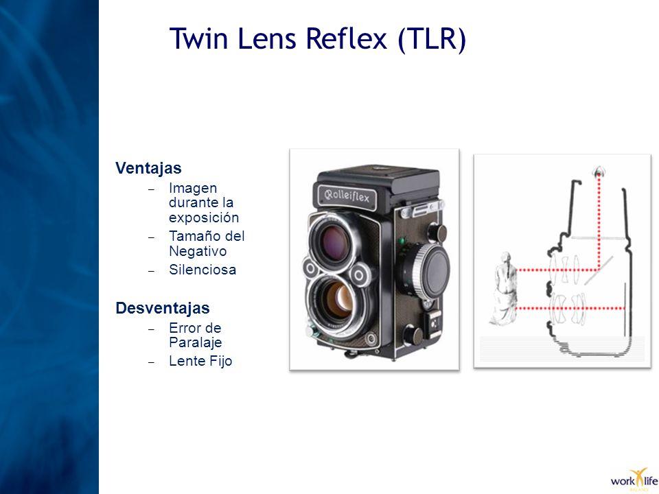 Twin Lens Reflex (TLR) Ventajas Desventajas
