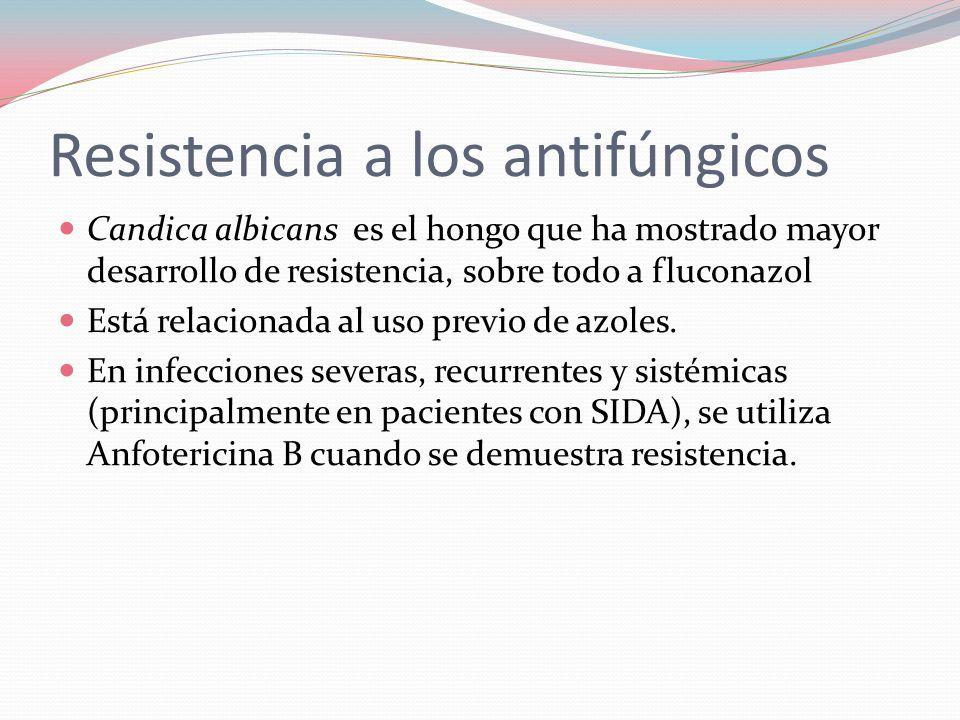 Resistencia a los antifúngicos