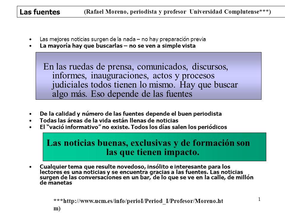 (Rafael Moreno, periodista y profesor Universidad Complutense***)
