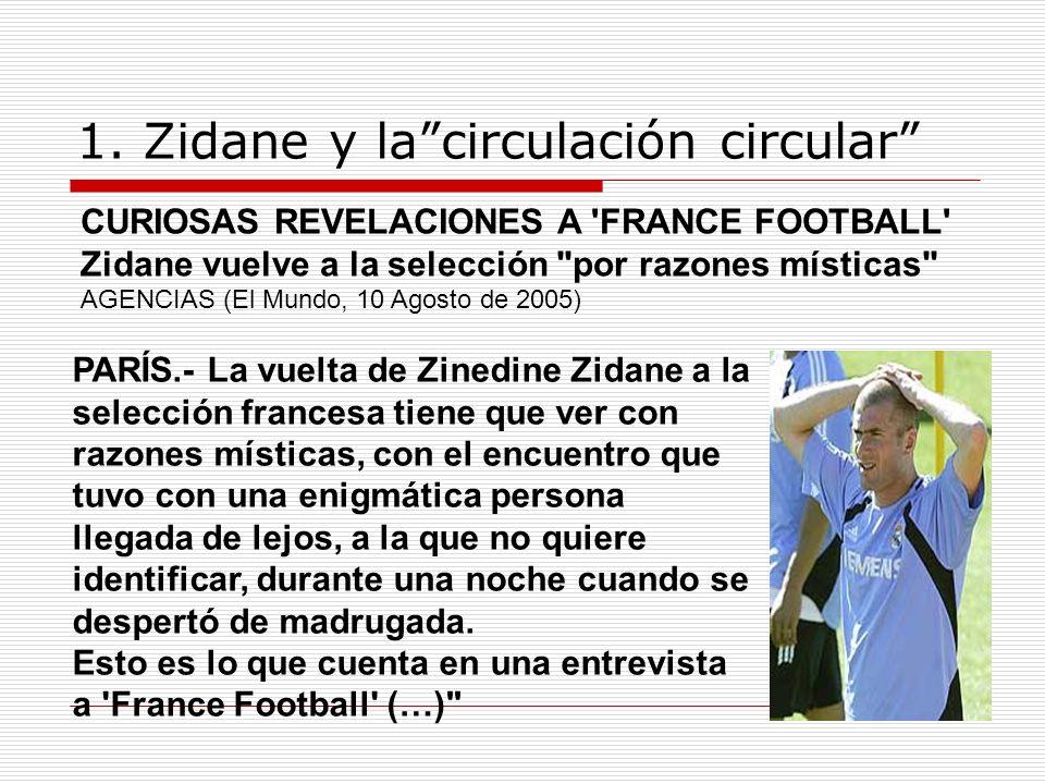 1. Zidane y la circulación circular