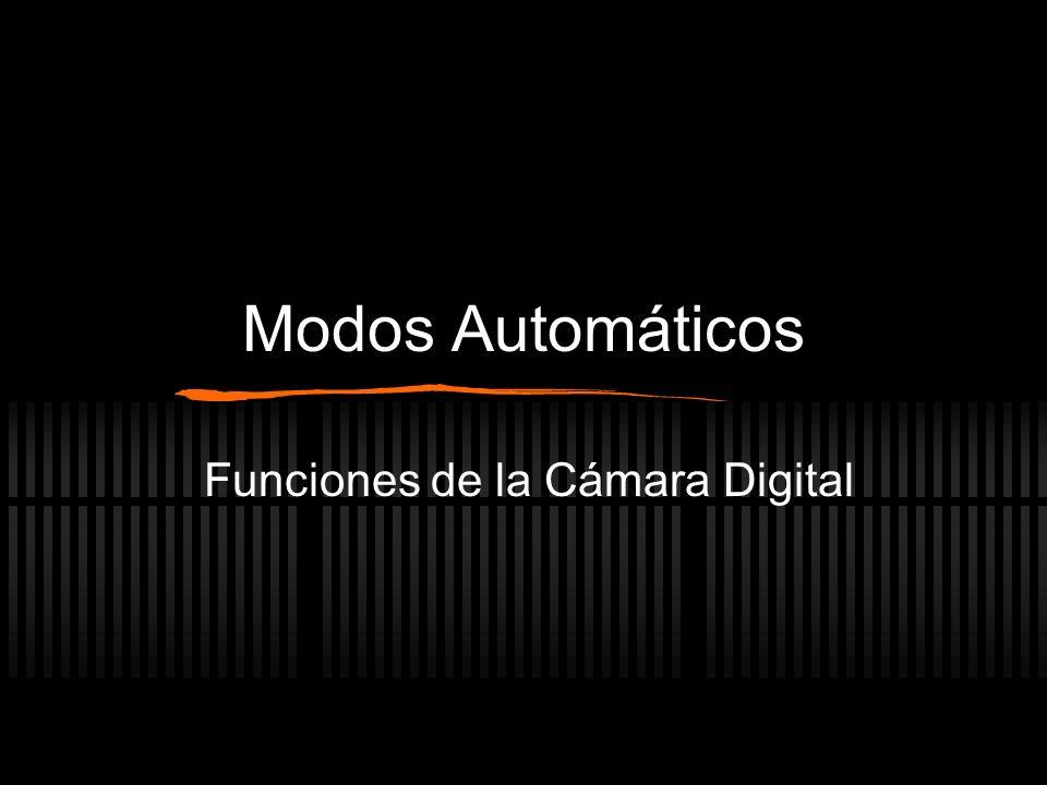 Funciones de la Cámara Digital