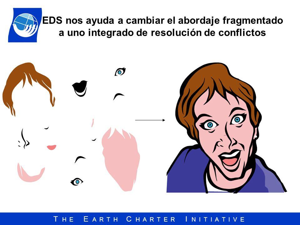 EDS nos ayuda a cambiar el abordaje fragmentado a uno integrado de resolución de conflictos