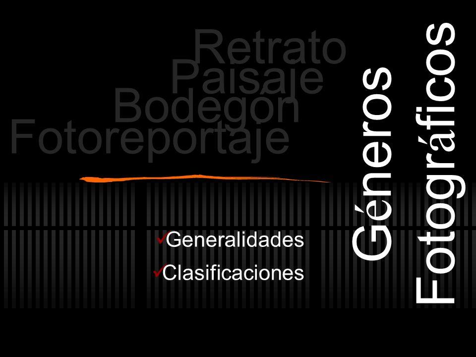 Generalidades Clasificaciones